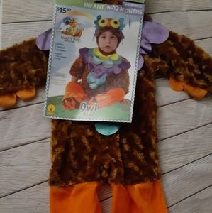 Infants Halloween costume cute Owl size 6-12 month